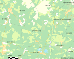 Map commune FR insee code 33436.png