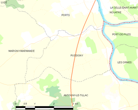 Map commune FR insee code 37190.png