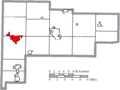 Map of Auglaize County Ohio Highlighting Saint Marys City.png