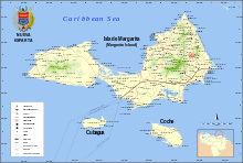 Map of Nueva Esparta.svg