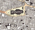Map of St Paul's, 1830.png
