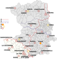 Map of Turin Province with Commune History.png