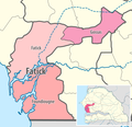 Map of the departments of the Fatick region of Senegal.png