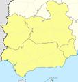 Mapa Segunda División B Grupo IV 2012-13.png