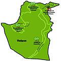 Mapa de los lugares de interés de la delegación Tlalpan.jpg