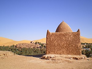 Zawiya (institution) - Zawiya at the entrance of Taghit, Algeria