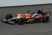 Marco Andretti alla 500 Miglia di Indianapolis 2008