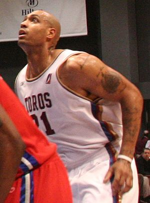 Marcus Fizer - Fizer in 2006 with the Austin Toros