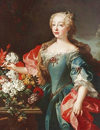 Mariana Victoria of Spain - Image: Mariana Victoria de Borbón y Farnesio, Reina consorte de Portugal