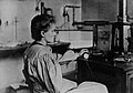 Marie Curie in her laboratory.jpg