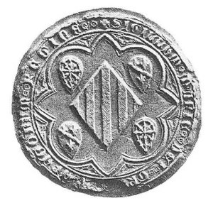 Maria of Navarre - The seal of Queen Maria