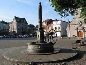 Hand pump - A rural handpump in Belgium.