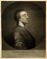 Mark Akenside. Mezzotint by E. Fisher, 1772, after A. Pond, Wellcome V0000064.jpg