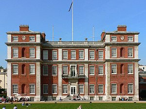 Commonwealth of Nations - Marlborough House, London, the headquarters of the Commonwealth Secretariat, the Commonwealth's principal intergovernmental institution