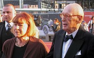 Wolfgang Menge - Wolfgang Menge with spouse Marlies, 2010 in Berlin