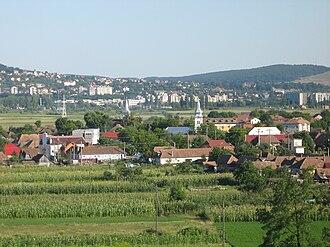Sântana de Mureș - Image: Marosszentanna látkép 2