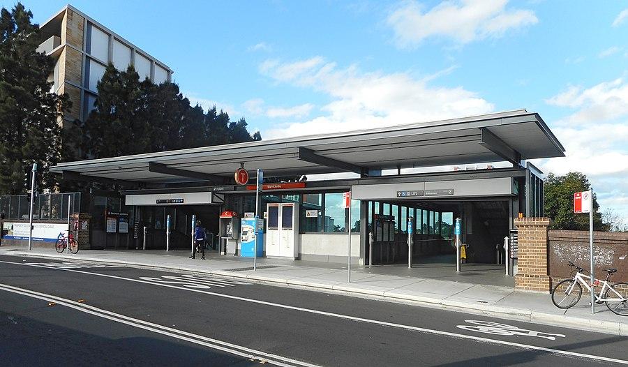 Marrickville railway station