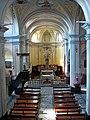 Marsaglia. Chiesa parrocchiale, interno..jpg