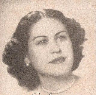 Marta Fernandez Miranda de Batista First Lady of Cuba