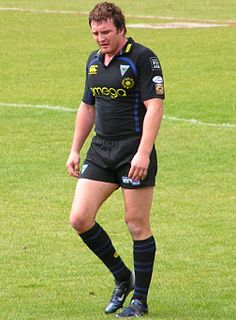 Martin Gleeson former GB & England international rugby league footballer