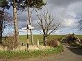 Marvingston Cross Roads. - geograph.org.uk - 151358.jpg