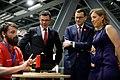 Mateusz Morawiecki wraz z Susan Wojcicki prezesem YouTube odwiedzili Centrum Nauki Kopernik.jpg