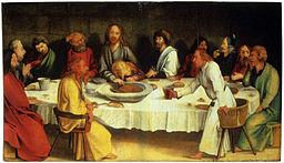 Matthias Gruenewald-Coburger Tafel-Abendmahl