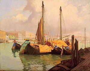 Maurice Cullen (artist) - Image: Maurice Cullen Customs Port, Venice