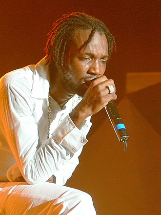 Mavado (singer) - Image: Mavado performs on stage for Dancehall Night at Reggae Sumfest 2008