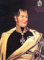 Archduke Maximilian hastily abandoned Vienna.