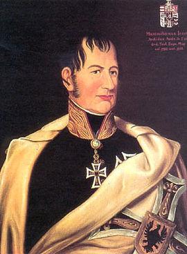 Maximilian von Este, Österreich, Erzherzog