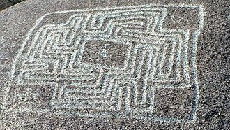Hemet, California - The Hemet Maze Stone, 2012