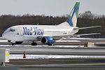 Med-View Airlines, 5N-BQM, Boeing 737-5Q8 (25143546642) (2).jpg