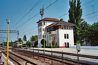 Medgidia - Medgidia railway station