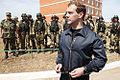 Medvedev at FSB special forces centre in Dagestan.jpg