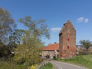 Megen Place in North Brabant, Netherlands