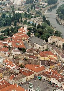 Győr a bazilikával