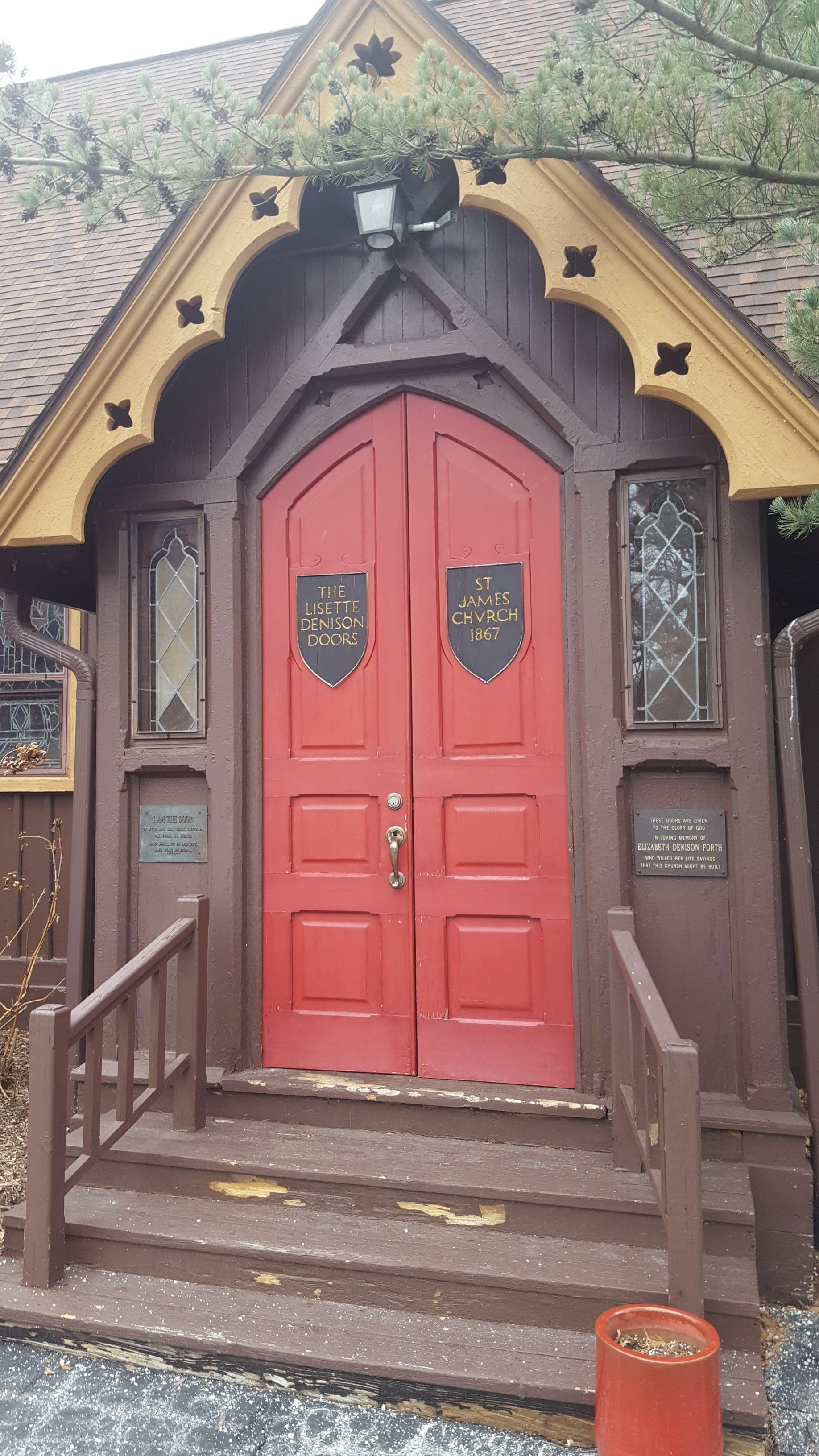 Filememorial Door St James Episcopal Church Grosse Ile Michigan