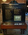 Memorial to HMS Chester in Chester Cathedral.jpg