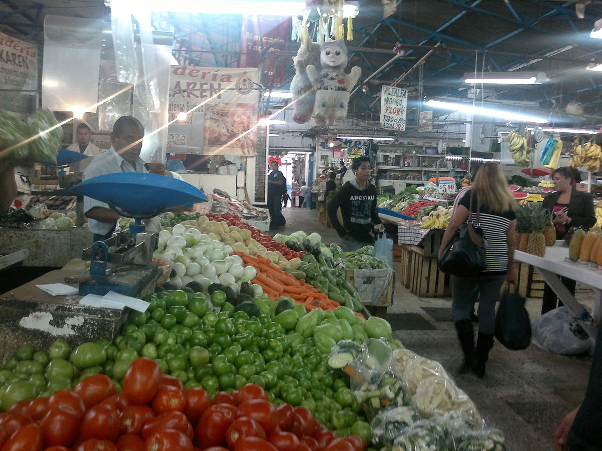 Mercados públicos de la Ciudad de México - Wikipedia, la enciclopedia libre