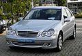 Mercedes-Benz C 230 Elegance (W 203, Facelift) – Frontansicht, 29. August 2011, Mettmann.jpg