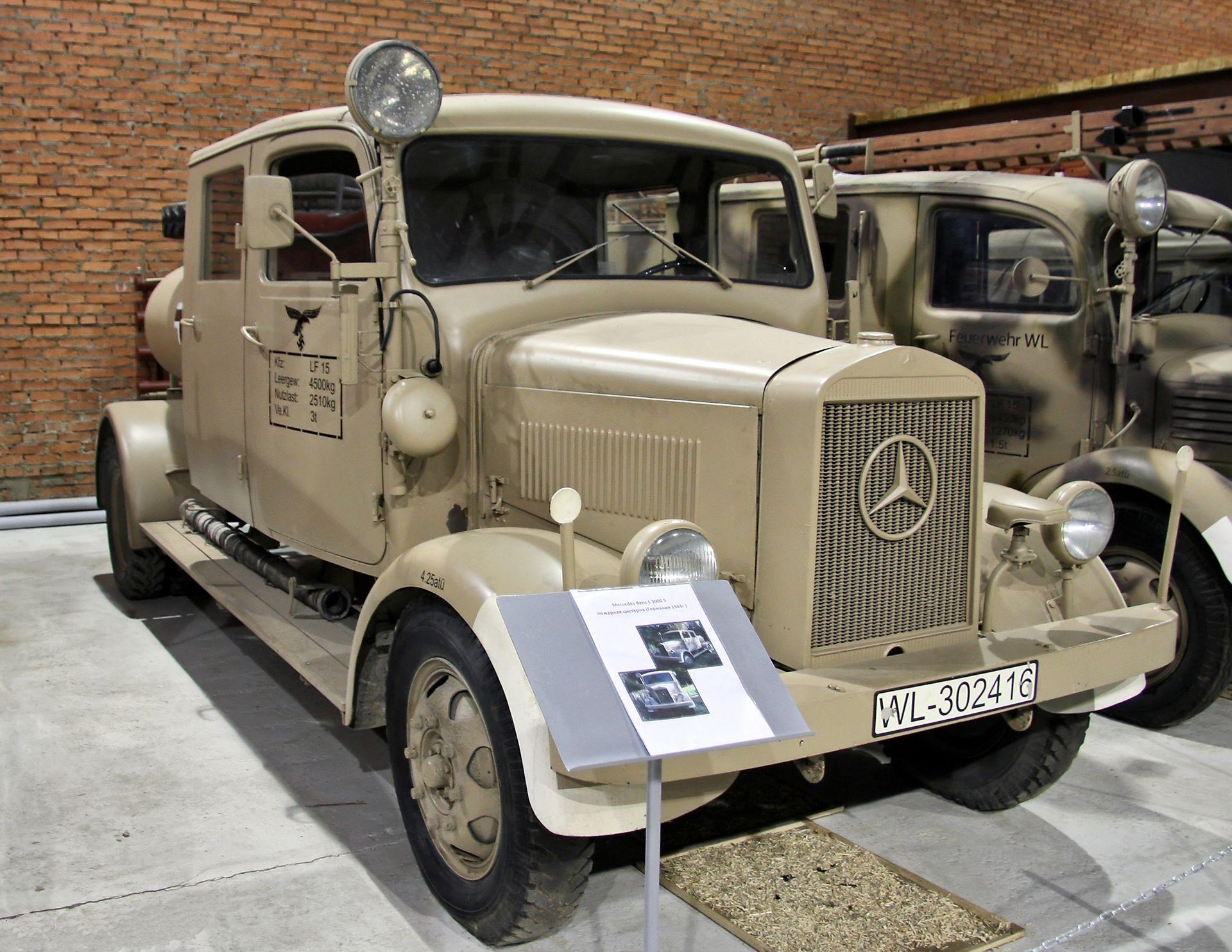 Mercedes benz l 3000 wikipedia for Mercedes benz under 3000