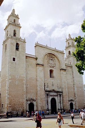 Roman Catholic Archdiocese of Yucatán - Metropolitan Cathedral of St. Ildephonsus