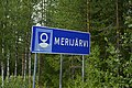 Merijärvi municipal border sign 20190802.jpg