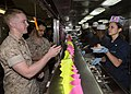 Mesa Verde Marines and Sailors relax with ice cream, live music 140723-M-MX805-377.jpg