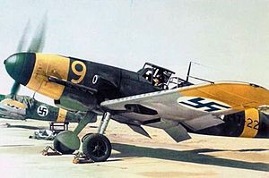 Finnish Air Force - Finnish Messerschmitt Bf 109 G-2s during the Continuation War
