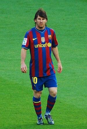 Ballon d'Or 2009 - 2009 Ballon d'Or winner Lionel Messi.