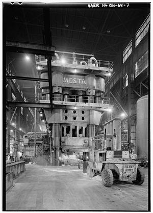 Heavy Press Program - The Alcoa 50,000-ton forging press