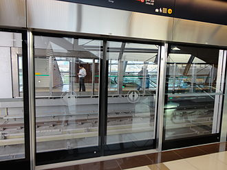 Dubai Metro - Ibn Battuta Mall station on the Red line