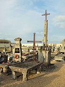 Le cimetière communal en 2017.